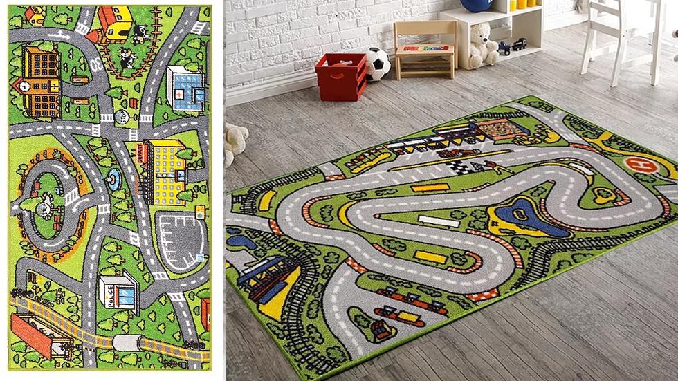 carpetas infantiles pista de autos