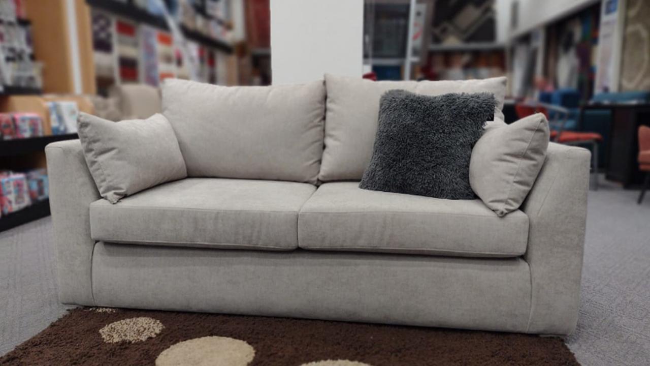 sofa de 3 cuerpos doble almohadon